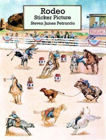9780486296036: Rodeo Sticker Picture (Dover Sticker Books)