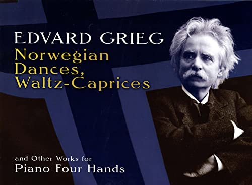 9780486296111: Norwegian Dances, Waltz-Caprices and Other Works for Piano Four Hands (Dover Music for Piano)