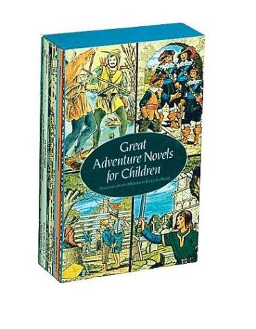 9780486296135: Great Adventure Novels for Children (Children's Thrift Classics)