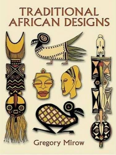 9780486296227: Traditional African Designs (Dover Pictorial Archive)