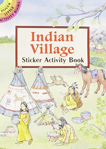 9780486296449: Indian Village Sticker Activity Book (Dover Little Activity Books Stickers)