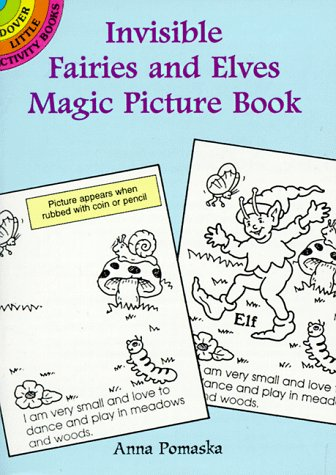 9780486296494: Invisible Fairies and Elves Magic Picture Book (Dover Little Activity Books)