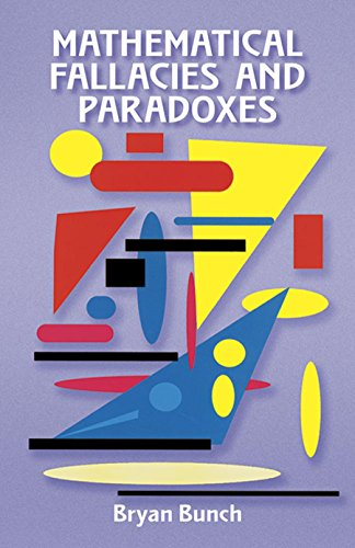 9780486296647: Mathematical Fallacies and Paradoxes (Dover Books on Mathematics)
