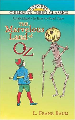 The Marvelous Land of Oz (Dover Children's Thrift Classics)