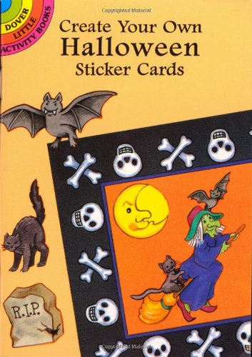 9780486297194: Create Your Own Halloween Sticker Cards (Dover Little Activity Books)
