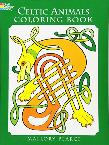 9780486297293: Celtic Animals Coloring Book