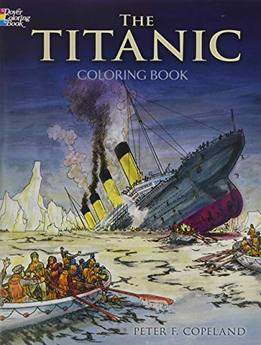 9780486297569: The Titanic Coloring Book (Dover History Coloring Book)