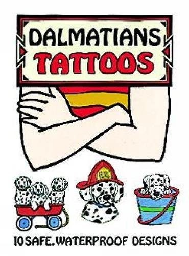 9780486297576: Dalmatians Tattoos (Dover Tattoos)