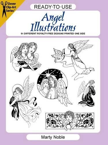 9780486297637: Ready-To-Use Angel Illustrations: 91 Different Copyright-Free Designs Printed One Side