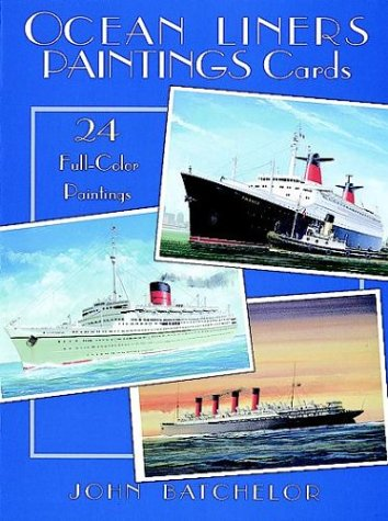 9780486297644: Ocean Liners Paintings Cards: 24 Full-Colour Paintings (Card Books)