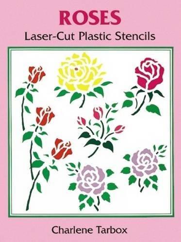 9780486297736: Roses Laser-Cut Plastic Stencils (Dover Stencils)