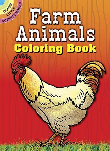 9780486297811: Farm Animals Coloring Book (Dover Little Activity Books)