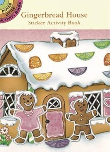 9780486297941: Gingerbread House Sticker Activity Book