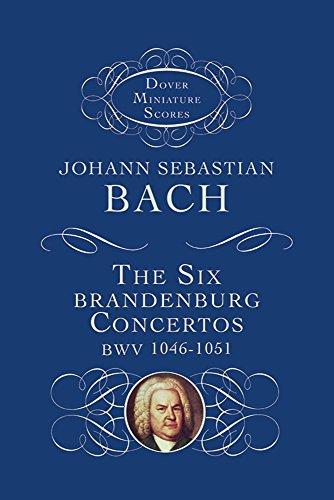 9780486297958: The Six Brandenburg Concertos: Bwv 1046-1051