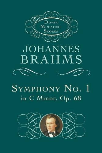 9780486297972: Symphony No. 1 in C Minor, Op. 68 (Dover Miniature Music Scores)