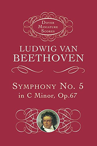 9780486298504: Beethoven: Symphony No. 5 in C Minor Op.67 (Miniature Score) (Dover Miniature Scores)