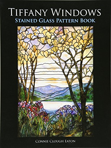 9780486298535: Tiffany Windows Stained Glass Pattern Book (Dover Stained Glass Instruction)