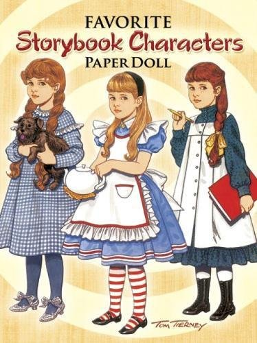 9780486298542: Favorite Storybook Characters Paper Doll
