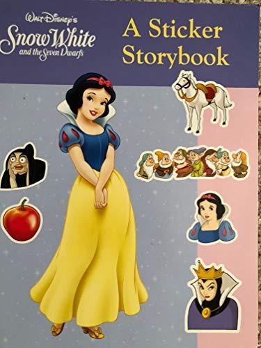 Snow White Sticker Storybook (Dover Little Activity Books) (0486298817) by Thea Kliros