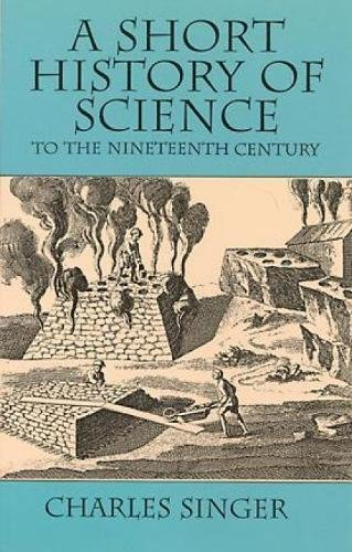 9780486298870: A Short History of Science to the Nineteenth Century