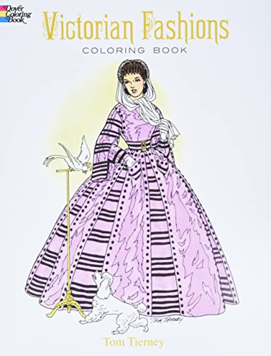 9780486299174: Victorian Fashions Coloring Book (Dover Fashion Coloring Book)