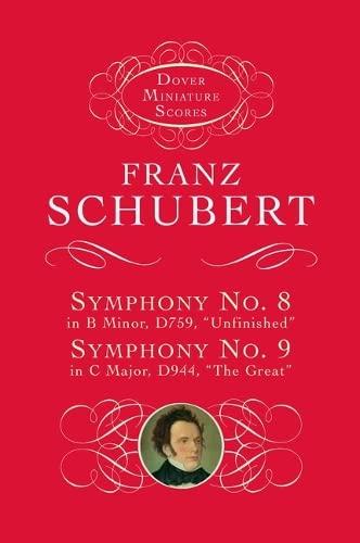 9780486299235: Symphonies Nos. 8 & 9 (Dover Miniature Music Scores)