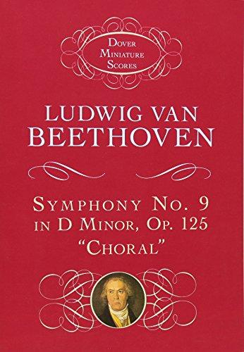 9780486299242: Ludwig van Beethoven: Symphony No. 9 in D Minor, Op. 125,