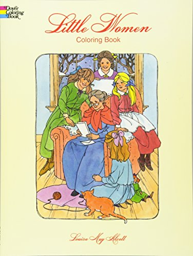 9780486299433: Little Women Coloring Book (Dover Classic Stories Coloring Book)