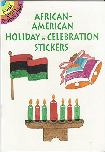 9780486299686: African-American Holiday and Celebration Stickers (Dover Little Activity Books)