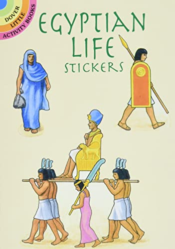 EGYPTIAN LIFE STICKERS (19 full-color stickers on: Smith, A.G.
