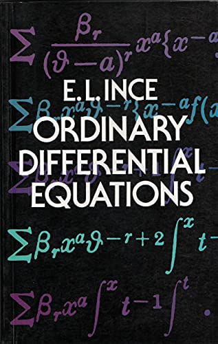 9780486322544: ORDINARY DIFFERENTIAL EQUATIONS.