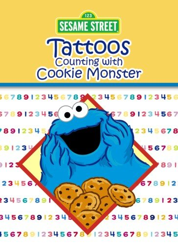 9780486330228: Sesame Street Counting with Cookie Monster Tattoos (Sesame Street Tattoos)