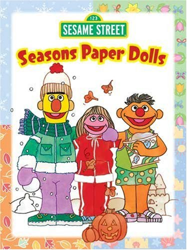 9780486330273 Sesame Street Seasons Paper Dolls Sesame