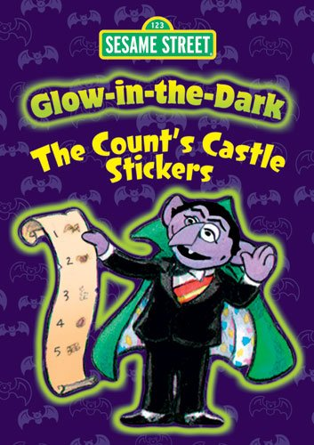 9780486330495: Sesame Street Glow-In-The-Dark the Count's Castle Stickers