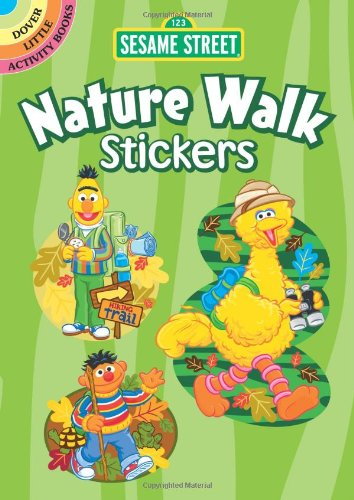 9780486330808: Sesame Street Nature Walk Stickers (Sesame Street Stickers) (English and English Edition)
