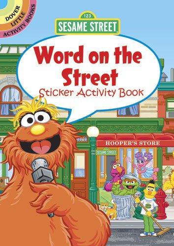Sesame Street Word on the Street Sticker Activity Book (Sesame Street Activity Books): Street, ...
