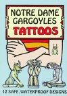 9780486400099: Notre Dame Gargoyles Tattoos