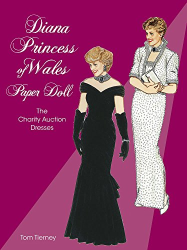 9780486400150: Diana, Princess of Wales, Paper Doll: The Charity Auction Dresses (Dover Royal Paper Dolls)