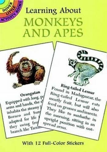 9780486400181: Learning About Monkeys and Apes (Dover Little Activity Books)