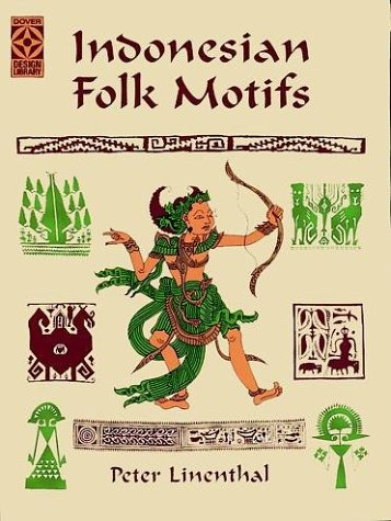 9780486400402: Indonesian Folk Motifs (Dover Design Library)