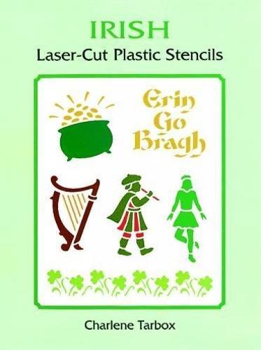 9780486400433: Irish Laser-Cut Plastic Stencils (Dover Stencils)