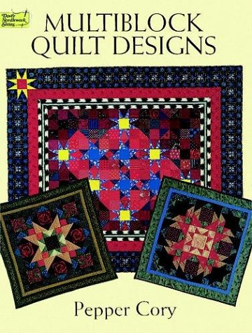 9780486400471: Multiblock Quilt Designs (Dover Needlework Series)