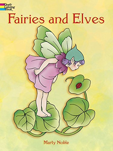 9780486400501: Fairies and Elves (Dover Coloring Books)