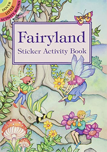 Fairyland Sticker Activity Book (Dover Little Activity Books (Paperback)): Marty Noble