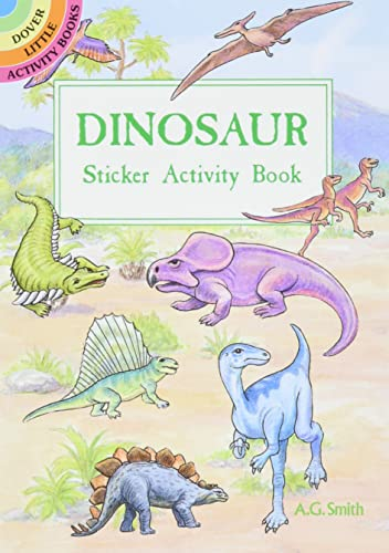 9780486400532: Dinosaur Sticker Activity Book (Dover Little Activity Books Stickers)