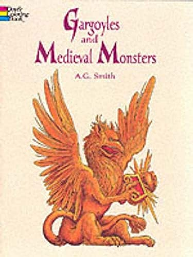 9780486400549: Gargoyles and Medieval Monsters Coloring Book (Dover Coloring Books)