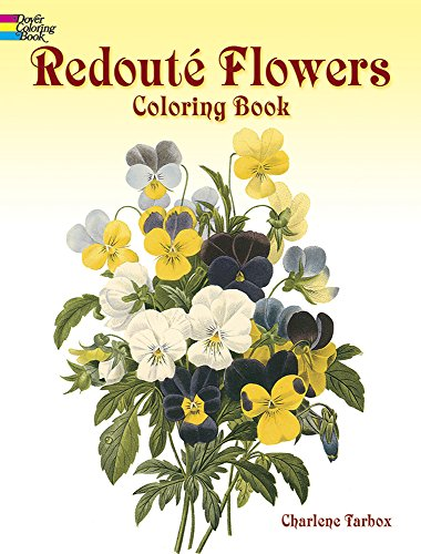 9780486400556: Redoute Roses Colouring Book (Dover Nature Coloring Book)
