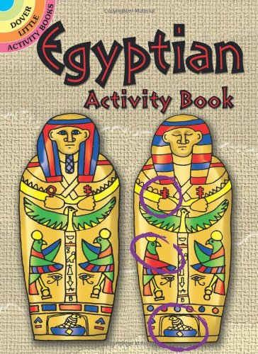 9780486400792: Egyptian Activity Book (Dover Little Activity Books)