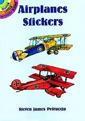 9780486400839: Airplanes Stickers (Dover Little Activity Books Stickers)