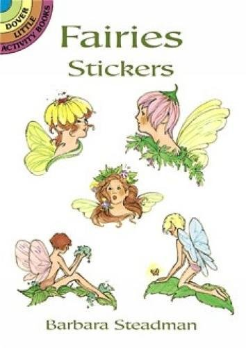 FAIRIES STICKERS (26 full-color stickers on 4: Steadman, Barbara